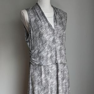 Vince Camuto maxi print dress